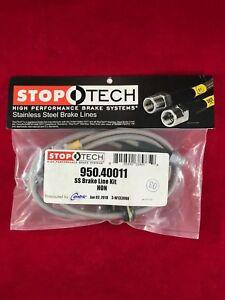 Stoptech Stainless Steel Front Brake Line 06 10 Honda Civic 2dr 4dr 950 40011