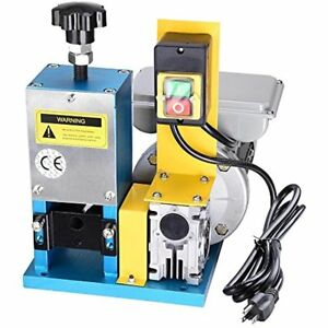 Electric Automatic Wire Stripping Machine Benchtop Powered Cable Stripper Tool