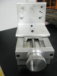 Velmex Aluminum Unislide Attachment Dovetail lathe Mill