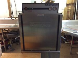 Champion Commercial Dishwasher pass Thru With Stainless l Counters