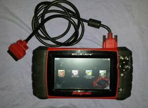 Snap On Solus Ultra Scan Tool V18 2 W Euro Eesc318 Snapon Scanner Code Reader