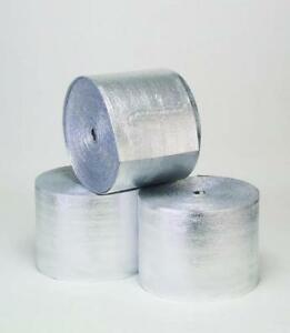 R 8 Hvac Duct Wrap Insulation Reflective 2 Sided Foam Core 4 X 12 48 Sq Ft
