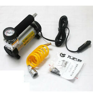 Heavy Duty Portable 12v Electric Tyre Inflator Air Compressor Pump