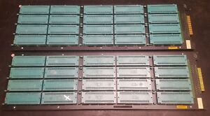 Lot Of 2 Delta V Burn in Test Boards 20 Textool 64 pin Dip Zif Sockets 264 4493