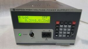 Kepco Bhk 1000 40mg used Dc High Voltage Power Supply 0 1000v 0 40ma 40w half r