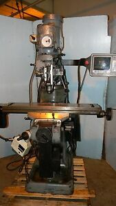 Bridgeport Milling Machine With Mx2 Control 9 X 42 Inch Table Video