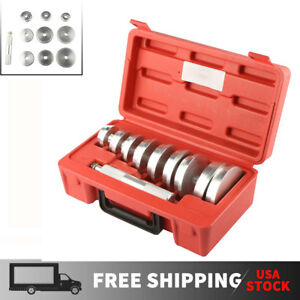 9 Discs Wheel Bearing Race Seal Driver Master Set Wheel Axle Puller Install