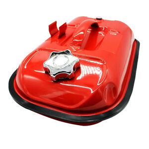 5l Red Portable Gas Diesel Petrol Fuel Tank Oil Container For Motor Car
