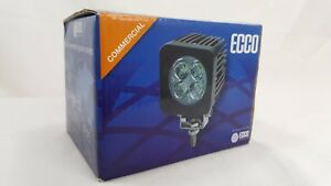 Ecco Ew2401 Square Led Work Lamp Flood Beam 4 Leds 580 Lumens 10 30vdc