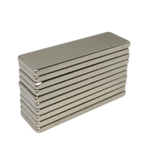 20 50 100 150 200pcs 30x10 X2mm N45 Strong Powerful Strip Magnet New Neodymium