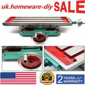 Multi function Worktable Milling Working Table Milling Machine Bench Drill Vise