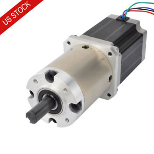 47 1 Planetary Gearbox Nema 23 Geared Stepper Motor 2 8a 4 Wires Cnc Router Kits