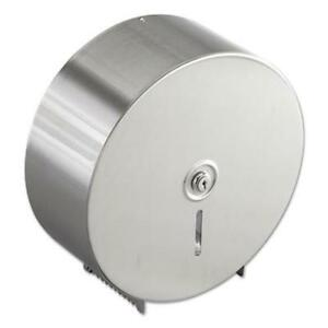 Bobrick 2890 Jumbo Toilet Tissue Dispenser Stainless Steel 10 625w X 10 625h X