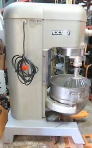 Hobart 60qt Mixer H 600 230v 1 5hp 1 Ph Rpm 1725 Good Working