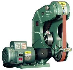 New Burr King 760 2 X 60 3 Wheel Belt Grinder