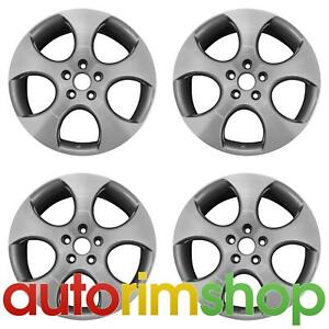 New 18 Replacement Wheels Rims For Vw Golf Gli Gti Jetta Set Detroit Machined