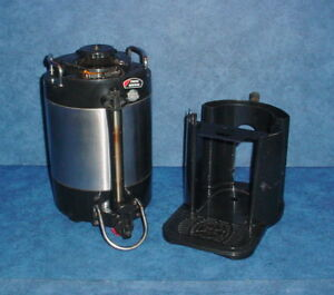 Bunn Sgc 60d 1 5 Gal Stainless Thermo Insulated Hot Coffee Dispenser W stand