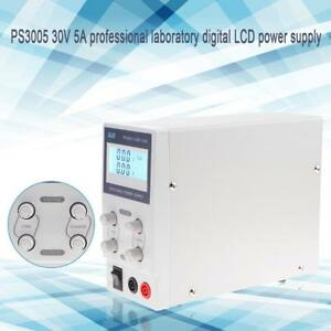 30v5a Dc Power Supply Digital Precision Adjustable Variable Dual Lab Bench Test