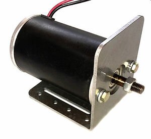 1 Hp 90 Volt Dc Battery Powered Go Kart Electric Dc Motor With Base Plate Mount