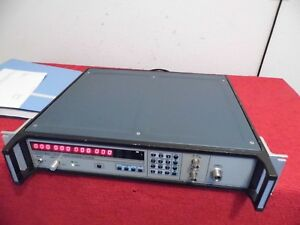 Eip 545b W opt s 01 02 08 10hz 20ghz Frequency Counter