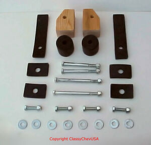 1939 1940 1941 1946 Chevy Gmc Truck Cab To Frame Mount Bolt Kit