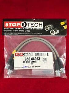 Stoptech Stainless Steel Front Brake Line 95 18 Toyota 4runner 950 44023
