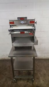 Acme Mrs11 r Double Pass Dough Roller Sheeter W Stand Tested 115v 3 4 Hp
