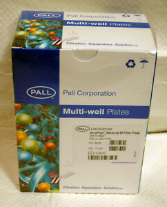 10 pack Pall 8035 Acroprep Advance 96 well Filter Plates 350ul W Omega 30k Mwco