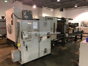 2000 Milacron Mh400 41 h04a0400028 Used Plastic Injection Molding Machine
