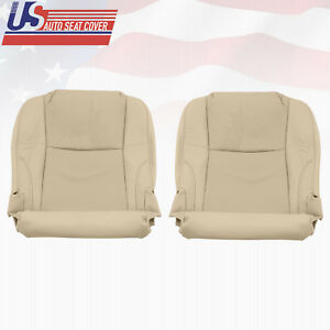 Fits 2006 2013 Lexus Is250 Left Right Bottom Seat Cover Perforated Leather Tan