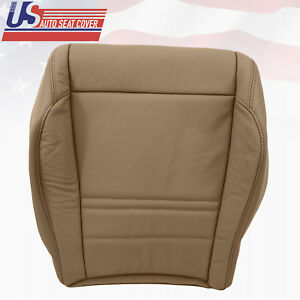 1998 2001 Ford Explorer Xlt Leather Driver Bottom Replacement Seat Cover In Tan