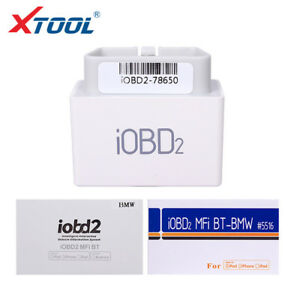Xtool Iobd2 Mfi Bluetooth Diagnostic Fault Code Reader Fits Bmw Android Ios
