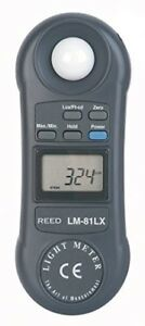 Reed Instruments Lm 81lx Compact Light Meter 20 000 Lux 2 000 Foot Candles