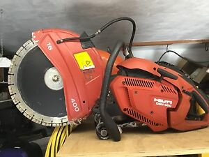 Hilti Dsh 900 16 Inch Concrete Cut Off Saw With Blade