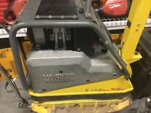 Wacker Dpu 6555 Plate Compactor 2016 Super Nice Only 15hrs On Unit