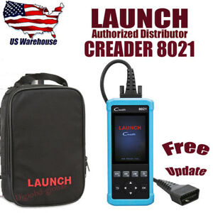 Launch Creader 8021 Code Reader Obdii Eobd Abs Srs Scanner Diagnostic Scan Tool