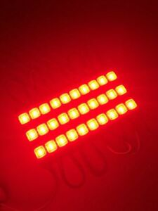 CO-RODE 40Pcs Waterproof 12v Injection 5730 SMD 3 LED Module Light Lamp with for