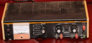 Nice Used B k Precision Model 1650 Tri output Power Supply Dynascan