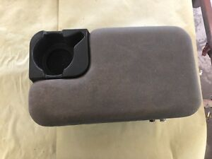 1998 2004 Ford Ranger Medium Gray Center Console With Cup Holder 2 Bolt Style
