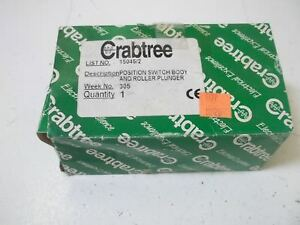 Crabtree Ac 15 Switch Body And Roller Plunger used