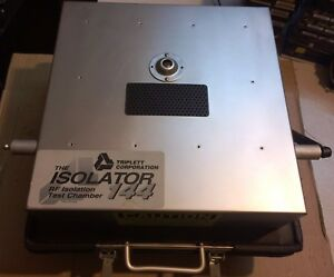 Triplett The Isolator 144 Rf Isolation Test Chamber With Baseband Interface