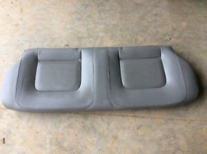 Vw 98 05 Beetle Hardtop Grey Gray Leather Rear Seat Lower Bottom Section