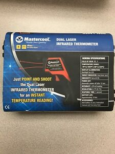 Mastercool Dual Laser Infrared Thermometer 52224 c new