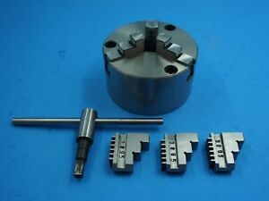3 Jaw Chuck Self Centering 125 Mm 5 For Small And Medium Lathes