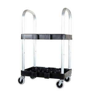 New Medical Cylinder Carrying Cart With Wheels Holds 6 Tanks Free Shipping