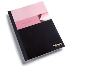 Fellowes Thermal Presentation Covers 1 4 60 Sheets Black 60 Sheet