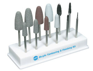 Shofu Acrylic Contouring And Finishing Kit Hp Dental Technique Kits