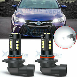 9005 Led Daytime Running Drl Driving Light Bulb 6k For Toyota Camry Corolla Rav4