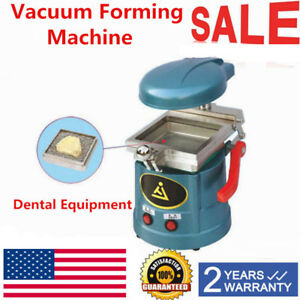 Vacuum Dental Former Molding Machine Heavy duty Adjustable Usa On Sale New