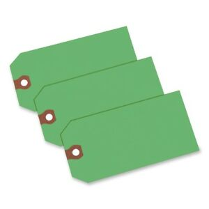 Avery Colored Shipping Tag 4 75 X 2 37 1000 box Green ave12365